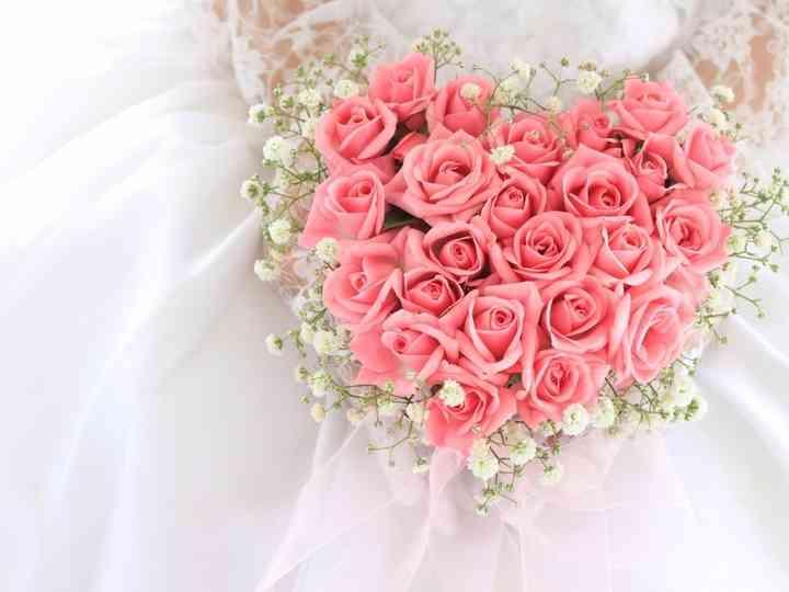 Flores para um ramo de noiva de primavera