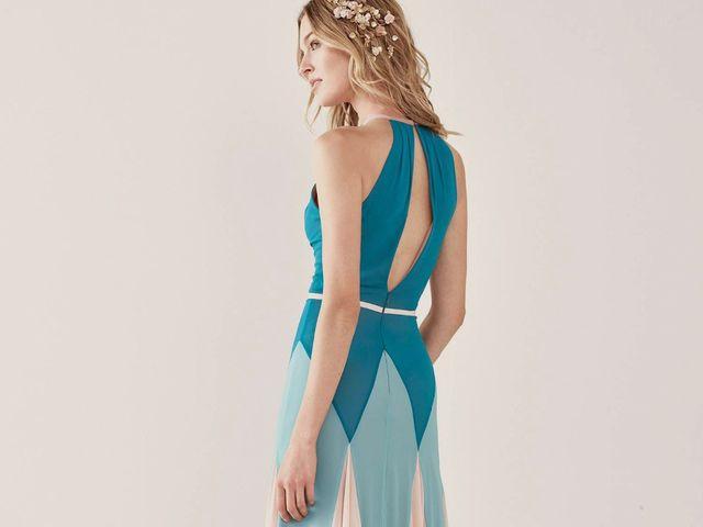 30 vestidos de festa com padrões geométricos