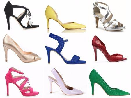 20 ideias para os sapatos das damas de honor