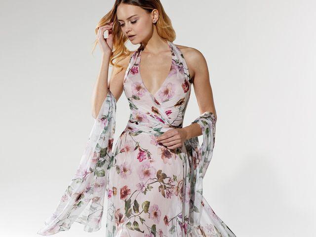 Vestidos primaveris para as madrinhas de casamento