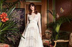 Vestidos de noiva de Yolan Cris: uma viagem à essência boho com Boho Chic 2017