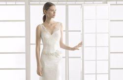 Vestidos de noiva Rosa Clará 2017: simplicidade e perfeição na sua coleção Soft