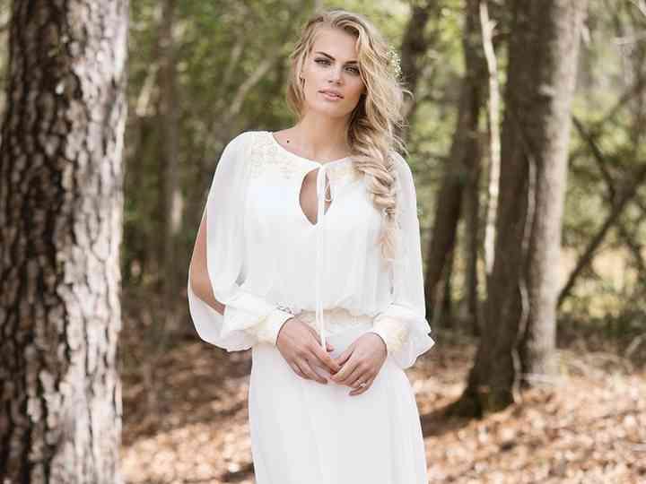 40 vestidos de noiva simples para as noivas minimalistas