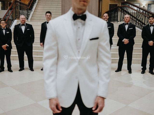Looks de noivo black & white: 30 propostas com muito charme