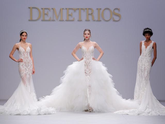 Demetrios: uma coleção cintilante para as noivas de 2020