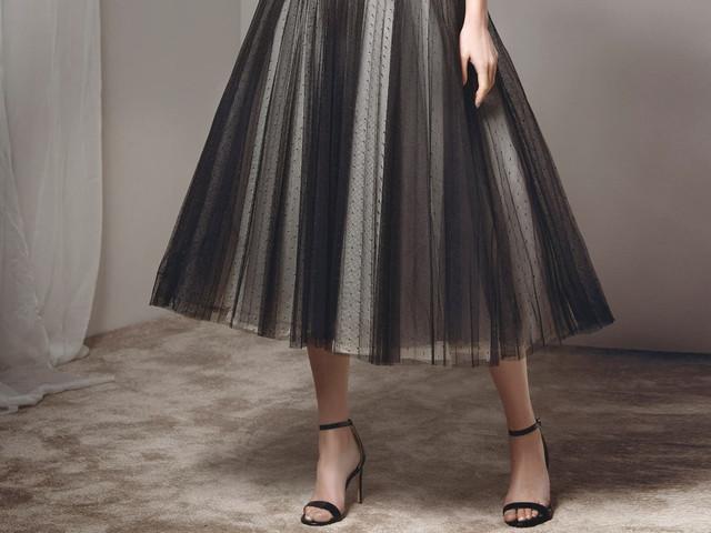 Vestidos midi: modelos de festa para este outono