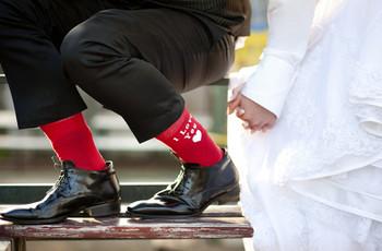Meias originais para o noivo: 6 conselhos para arrasar