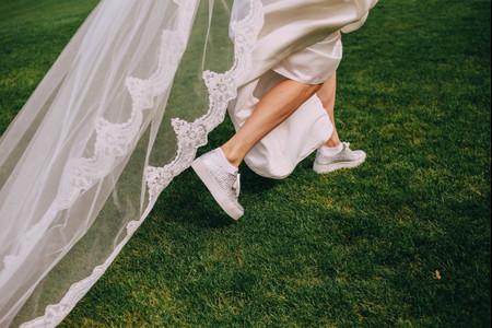 Sapatilhas para a noiva: as propostas mais originais