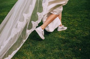Sapatilhas para a noiva: as 4 propostas mais originais