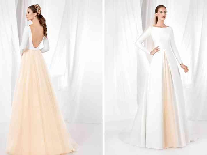Franc Sarabia: pormenores e cores românticas para as noivas de 2019
