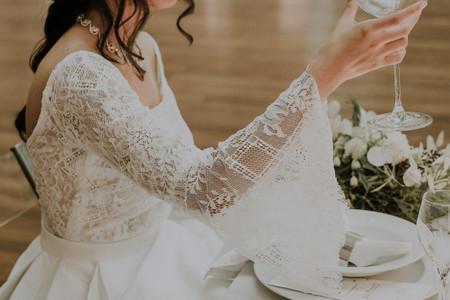 50 vestidos com manga comprida para as noivas deste outono/inverno