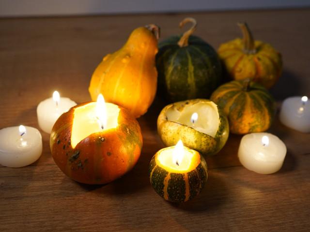 DIY: abóboras com velas para celebrar o Halloween!