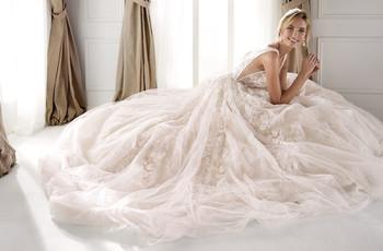 """Nicole 2020: vestidos de noiva que são """"un sogno italiano""""!"""