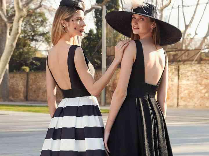 Moda Preto Vestidos Roupas na .br
