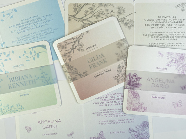 Convites Busquets: surpreende os teus convidados