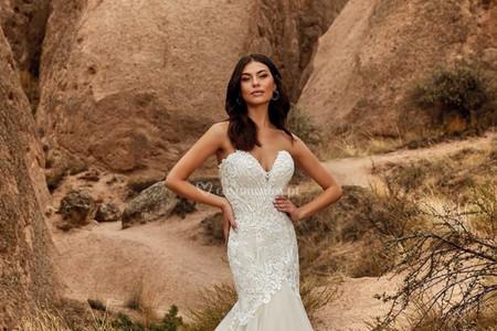 Vestidos de noiva Eddy K. 2021: um sonho tornado realidade