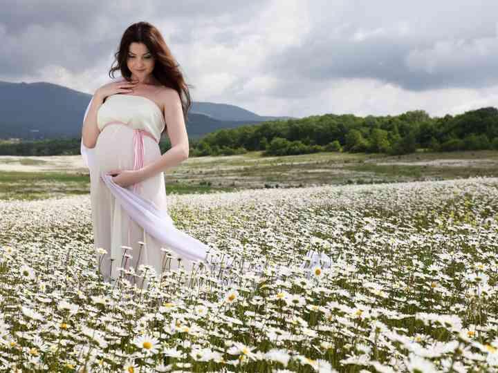20 vestidos para noivas grávidas que te vão apaixonar!