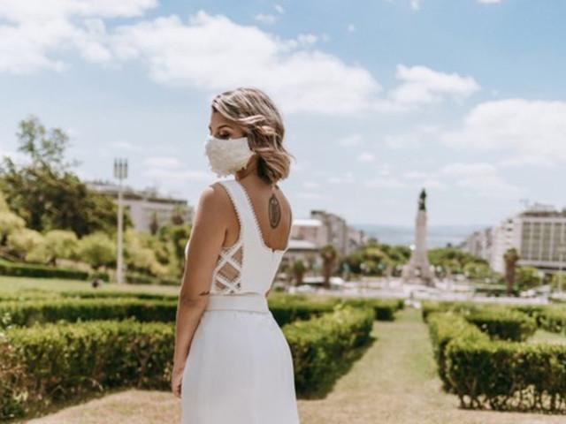 Maquilhagem para noivas tendo em conta o uso da máscara