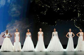 Os vestidos de noiva Nicole Milano 2021 triunfam no VBBFW