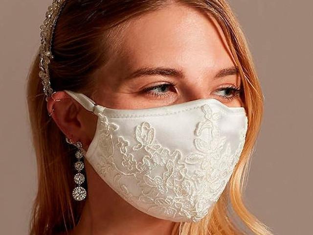 Casamentos pós-coronavírus: máscaras para todos os gostos