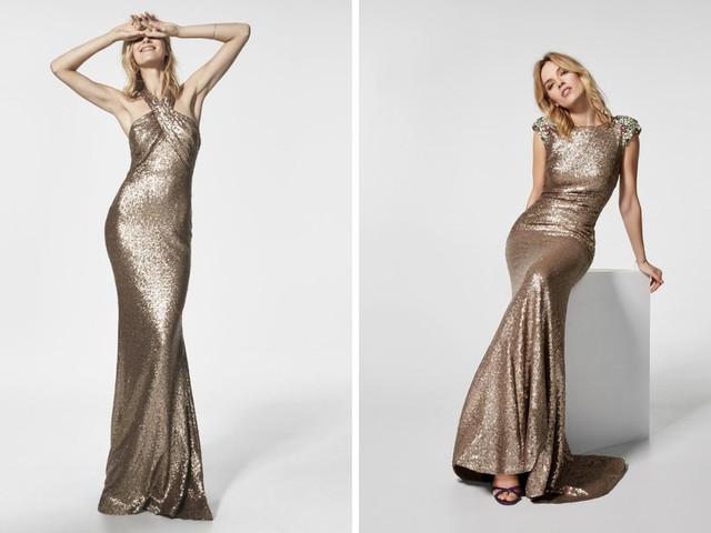 Vestidos de festa dourados: um must para os enlaces noturnos!