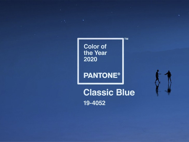 Conheçam o Classic Blue, a cor do ano segundo o Pantone Color Institute