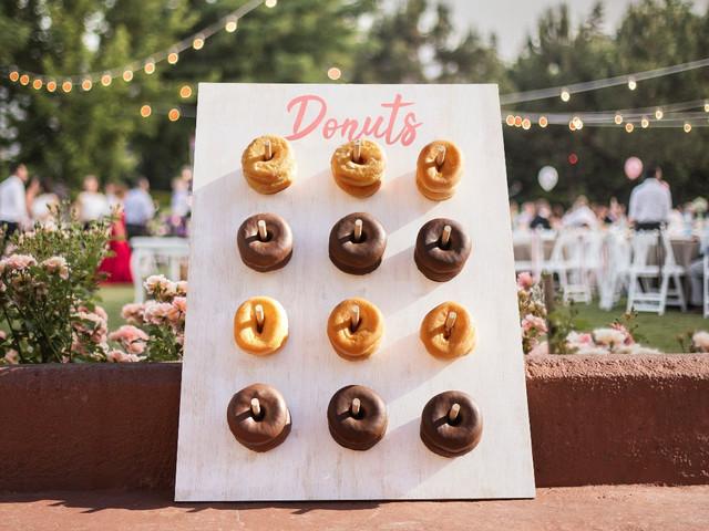 DIY: Parede de Donuts