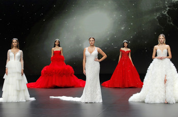 Valmont Barcelona Bridal Fashion Week 2020: o glamour nos vestidos de noiva Demetrios