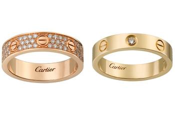 Alianças de casamento Cartier: os modelos mais elegantes de 2019