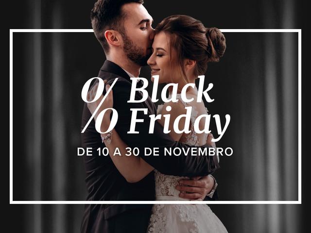 As melhores ofertas da Black Friday 2020 em Casamentos.pt