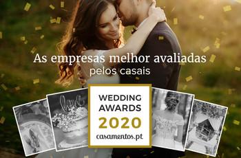 Venham descobrir os premiados da 7ª edição dos Wedding Awards