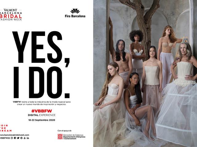 Elegância, irreverência e sensualidade no novo espaço digital do Valmont Barcelona Bridal Fashion Week