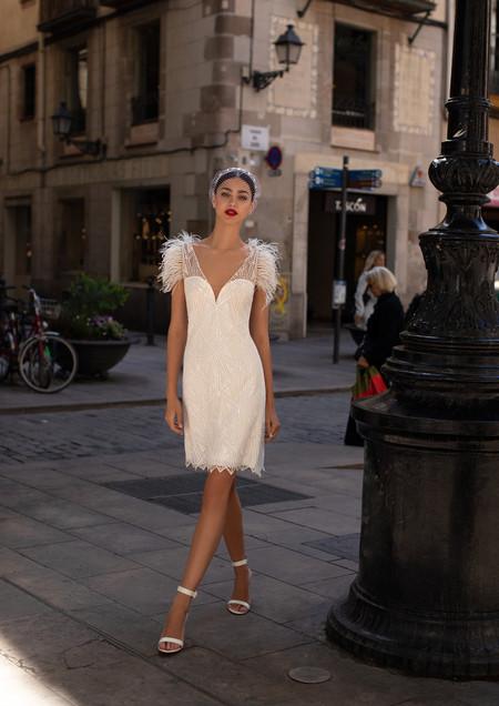 As melhores propostas de vestidos curtos para a noiva moderna