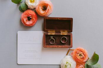 Teste: como devem ser as vossas alianças de casamento?
