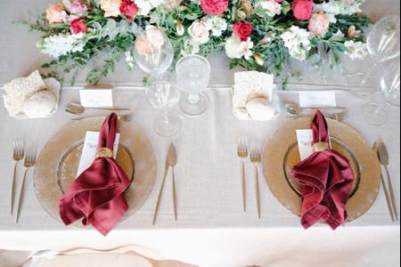 As 5 tendências mais in para as mesas de casamento