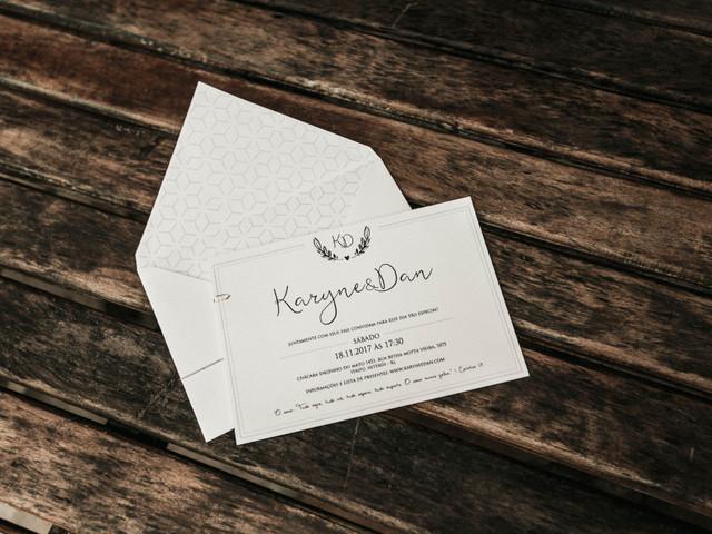 Minimalismo: simplicidade e elegância nos teus convites de casamento