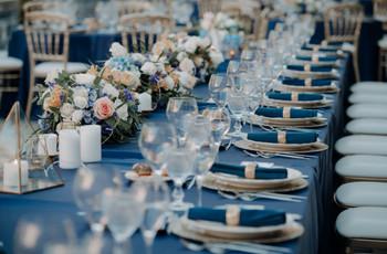 Frascos e garrafas de vidro como decoração do vosso casamento