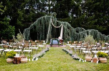 Casamentos ao ar livre: pormenores de decoração que fazem a diferença