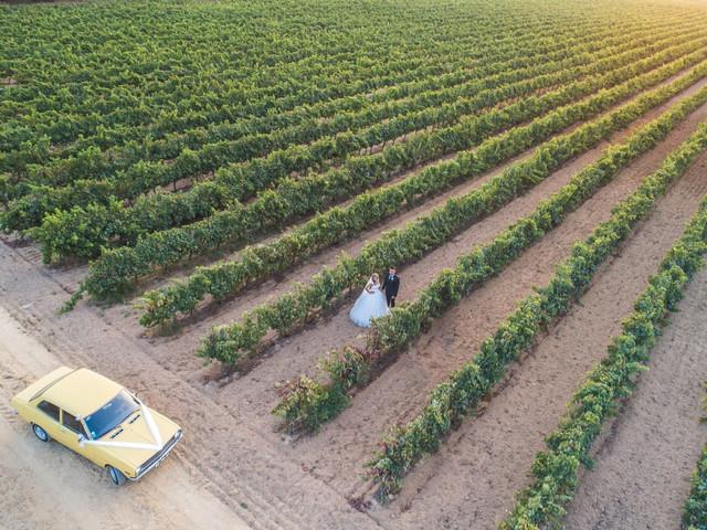 Fotos com drone: um upgrade fantástico para o vosso álbum de casamento