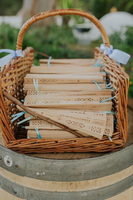 Cestos na decoração: 20 imagens para inspirar o teu casamento!