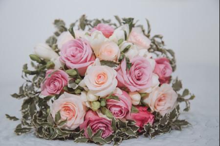 Ramos de noiva cor de rosa: 50 opções para todos os estilos