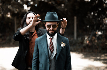 Chapéus para noivos: 5 estilos para um look único