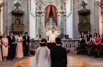 A estrutura da cerimónia católica: tudo o que precisam de saber
