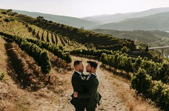 Casamento entre vinhas: 40 fotos para inspirar-vos