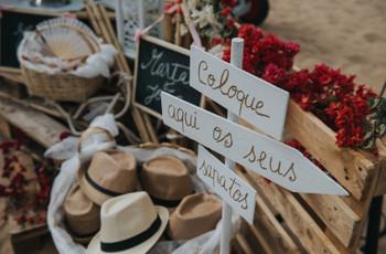 Lembranças úteis (e com estilo!) para casamentos ao ar livre