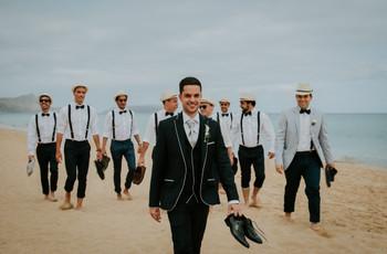 Casamento na praia: os melhores looks para o noivo