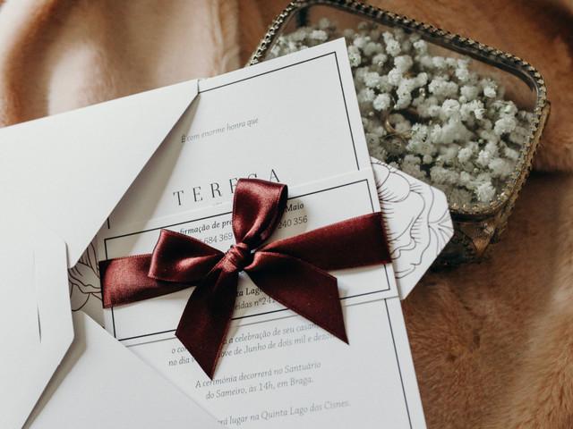 Convites de casamento: tendências para 2020