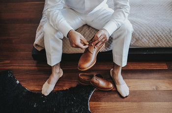 Sapatos do noivo: conselhos para acertar no modelo e na cor