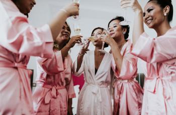 Teste: Qual a prenda que deves dar às tuas damas de honor?