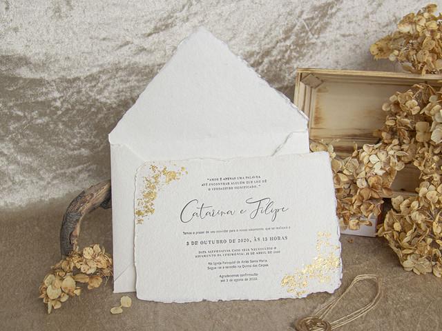 Convites de casamento: 6 tendências 2021 a não perder!